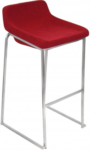 Drop In Red Barstool