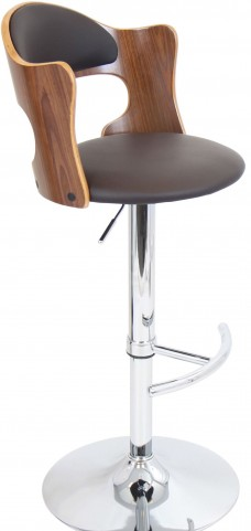 Cello Matte Brown Barstool