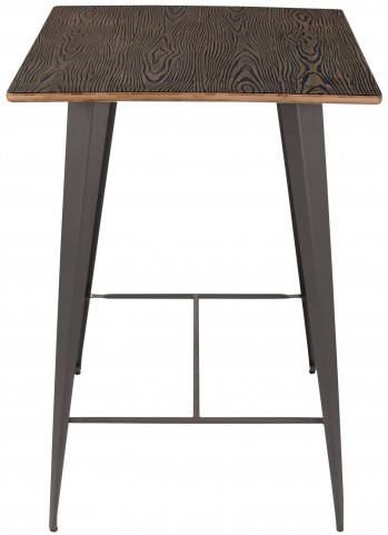 Oregon Dark Espresso Pub Table