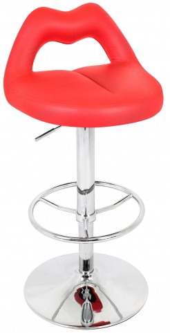 Smooch Red Barstool