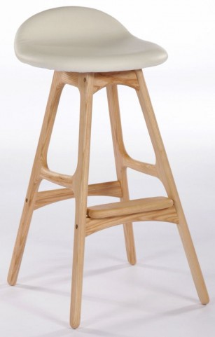 Modern Classics Torbin 1 Ash Cream Bar Stool
