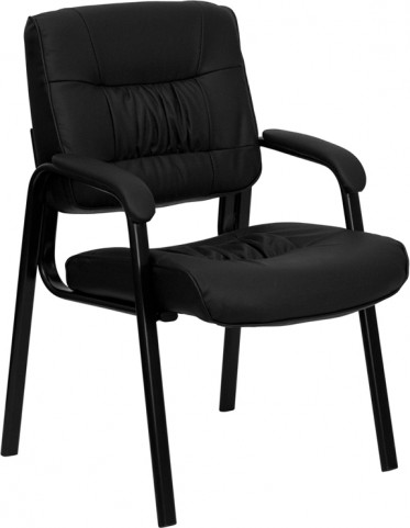 Black Guest / Reception Chair