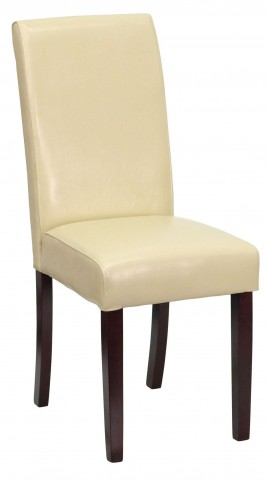 Ivory Upholstered Parsons chair