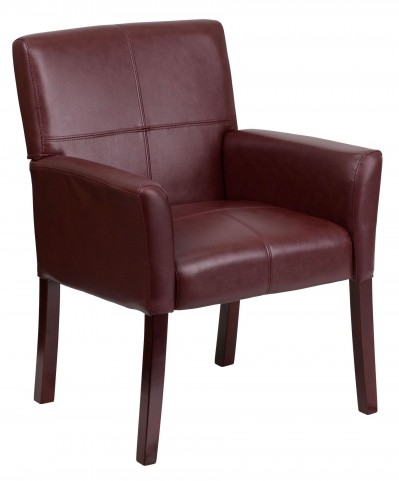 Executive Side Chair Burgundy