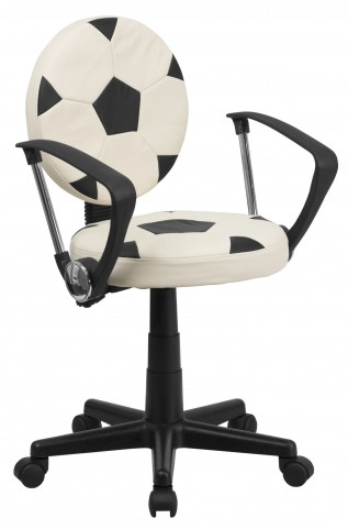 Kids Soccer Task Arm Chair