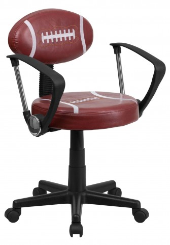 Kids Football Task Arm Chair