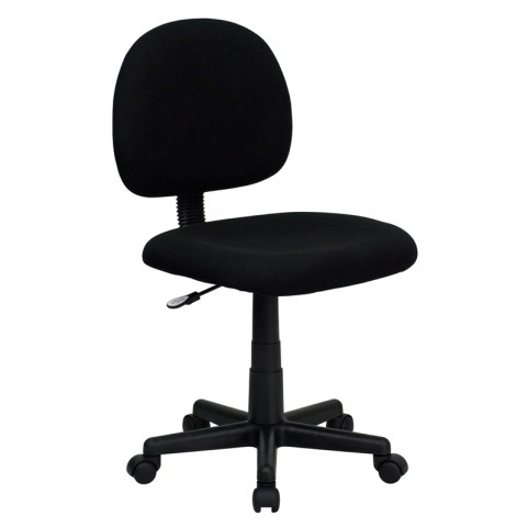 Ergonomic Black Task Chair