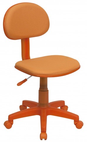 Orange Ergonomic Task Chair