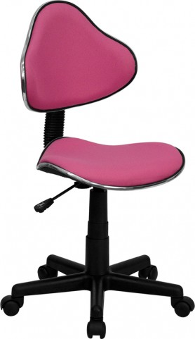 Pink Ergonomic Small Back Task Chair