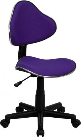 Purple Ergonomic Task Chair