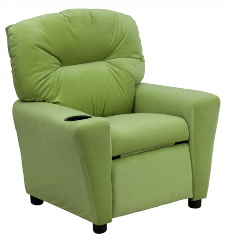 Avocado Kids Recliner with Cup Holder