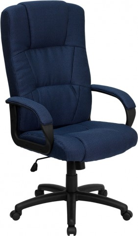 High Back Navy Executive Office Chair