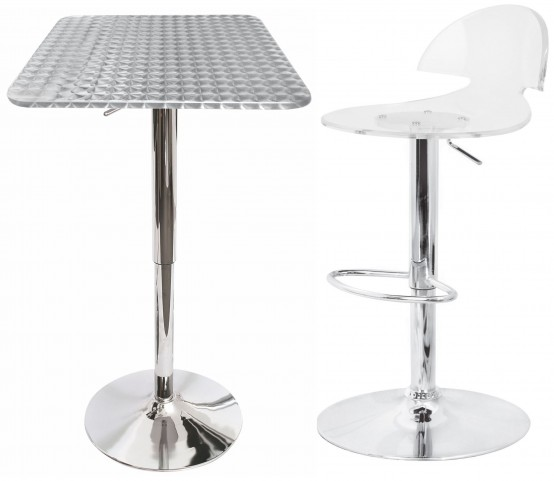 Bistro Square Bar Set