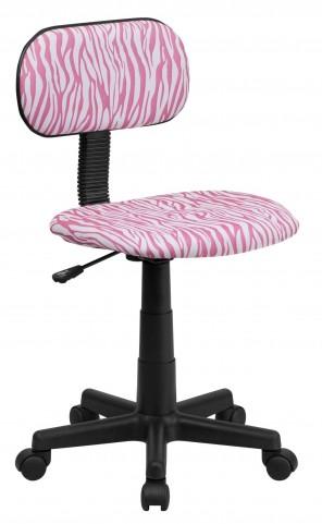 1000542 Zebra Print Computer Chair