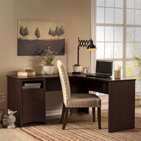 """Buena Vista 60"""" L-Desk"""