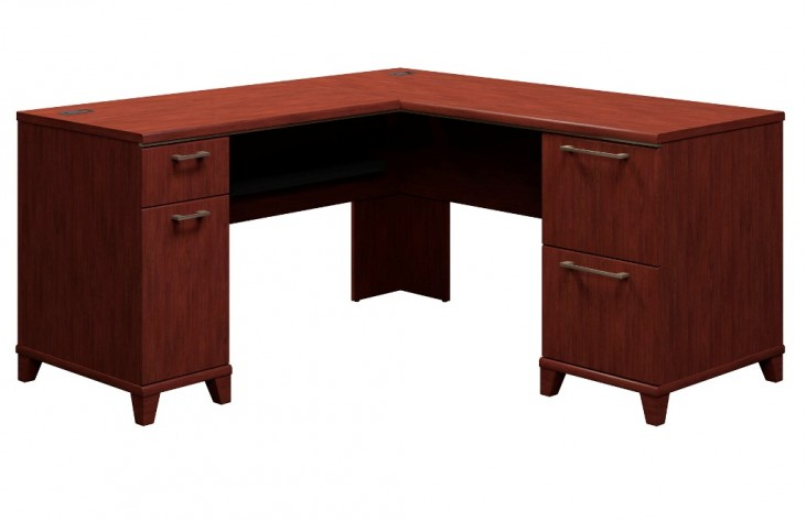 Enterprise Harvest Cherry 60 Inch L Desk