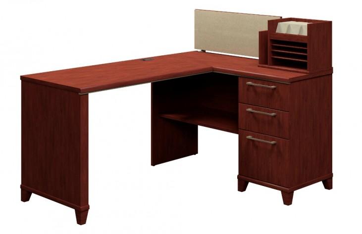 Enterprise Harvest Cherry 60 Inch Corner Desk