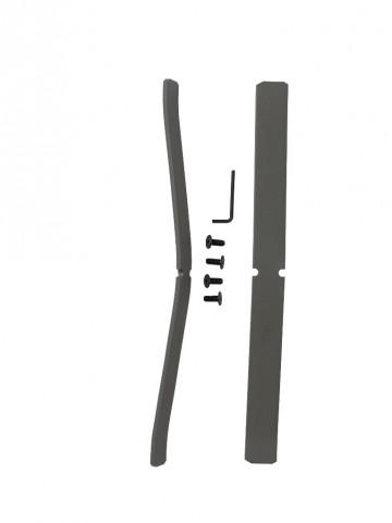 ProPanel Light Grey Single Panel Foot Kit