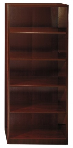 Quantum Harvest Cherry  30 Inch 5-Shelf Bookcase