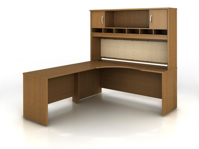 SRC002WOL Series C Warm Oak Office Set