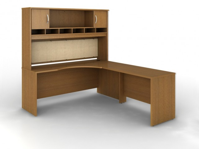 SRC002WOR Series C Warm Oak Office Set