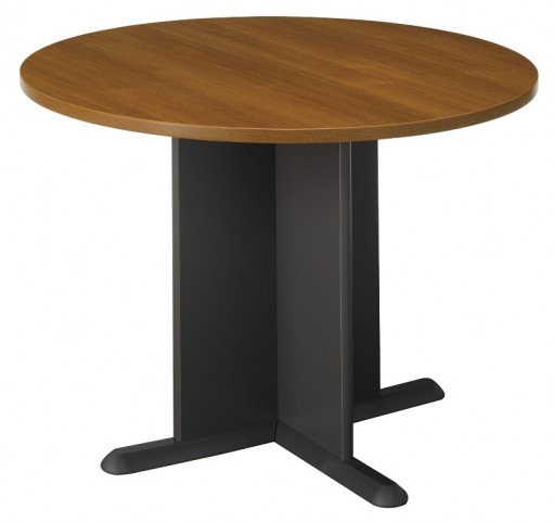 Series C Warm Oak 42 Inch Round Conference Table