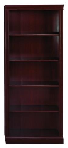 Saratoga Harvest Cherry Bookcase - 5 Shelf