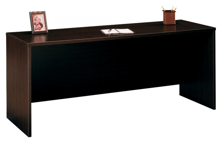Series C Mocha Cherry 72 Inch Credenza Shell
