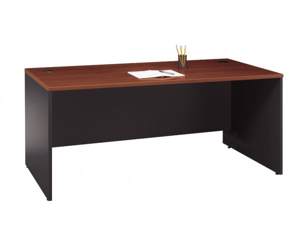 Series C Hansen Cherry 72 Inch Desk Shell