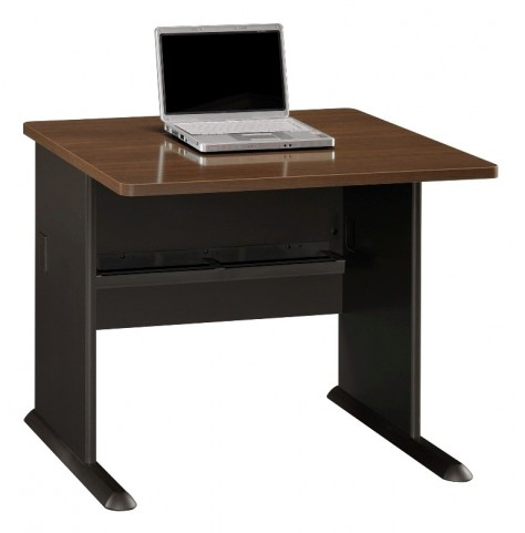 Series A Sienna Walnut 36 Inch Desk