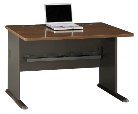 Series A Sienna Walnut 48 Inch Desk