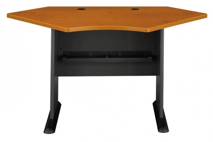 Series A Natural Cherry 42 Inch Corner Desk
