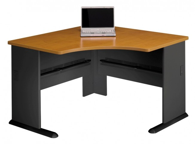 Series A Natural Cherry 48 Inch Corner Desk
