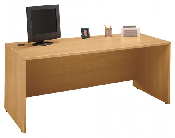 Series C Light Oak 72 Inch Desk Shell