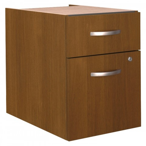 Series C Warm Oak 3/4 Pedestal