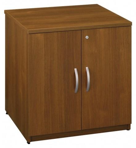 Series C Warm Oak 30 Inch Storage Cabinet