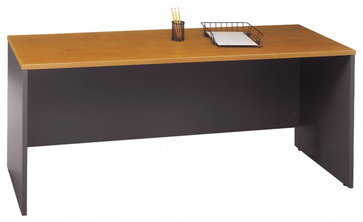 Series C Natural Cherry 72 Inch Credenza Shell