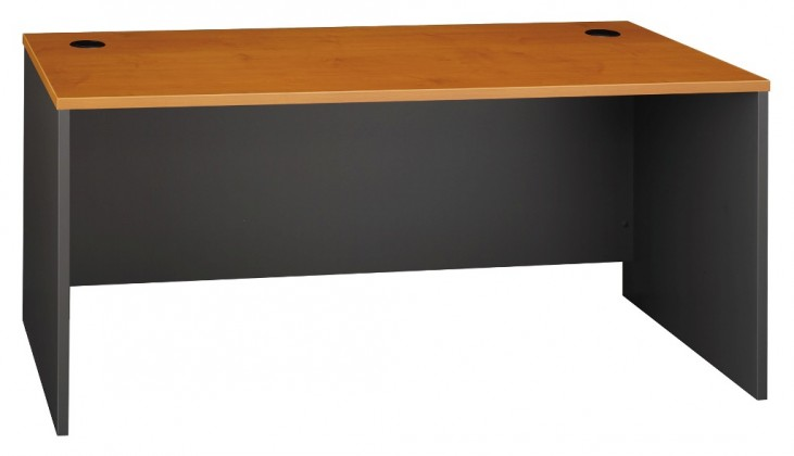 Series C Natural Cherry 66 Inch Desk Shell