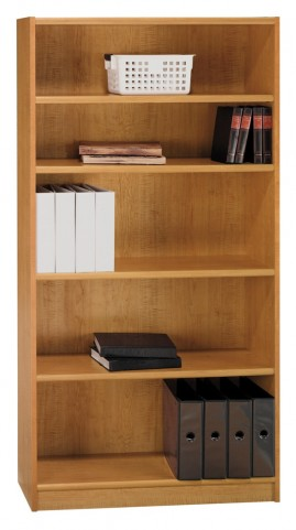 Universal Snow Maple 72 Inch Bookcase