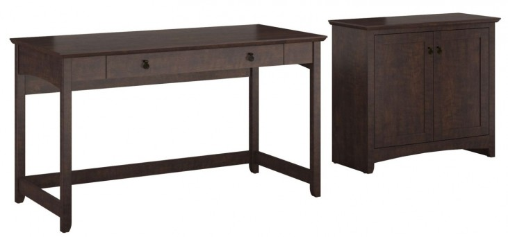 Buena Vista Madison Cherry Writing Desk With Low Storage