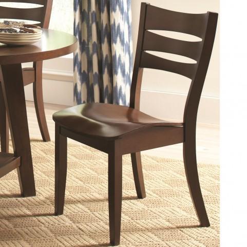 Byron Dark Brown Dining Chair Set of 2