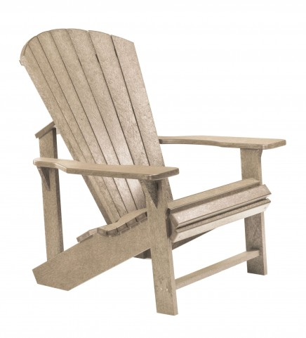 Generations Beige Adirondack Chair