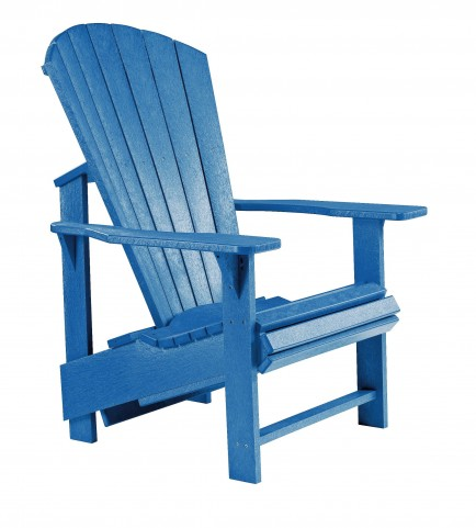 Generations Blue Upright Adirondack Chair