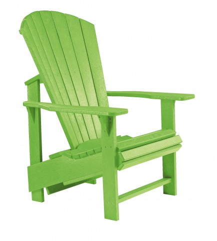 Generations Kiwi Lime Upright Adirondack Chair