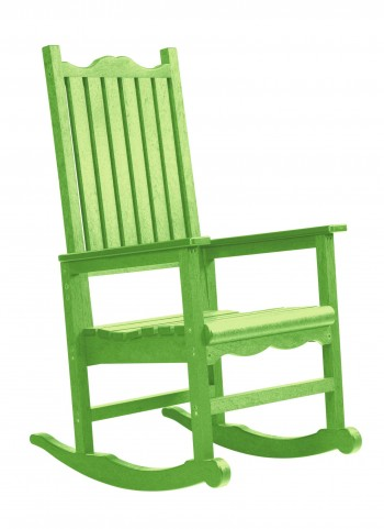 Generations Kiwi Lime Casual Porch Rocker