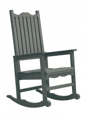 Generations Slate Casual Porch Rocker