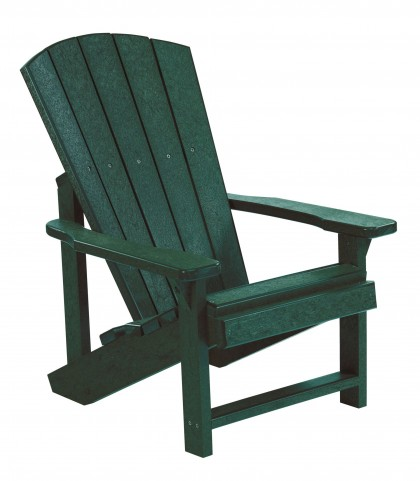 Generations Green Kids Adirondack Chair