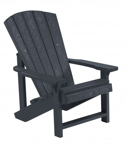 Generations Black Kids Adirondack Chair