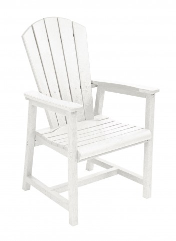 Generations White Adirondack Dining Arm Chair