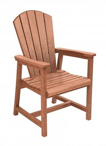 Generations Cedar Adirondack Dining Arm Chair